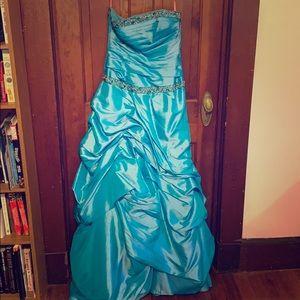 Flirt Maggie Sortero Ball Gown - Light Blue